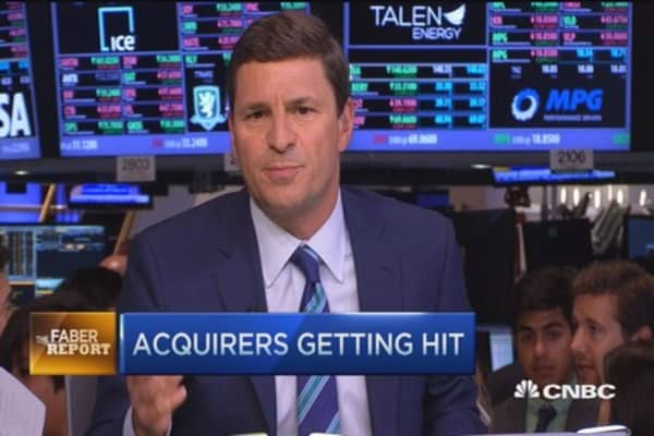 Faber Report: Acquirers getting hit