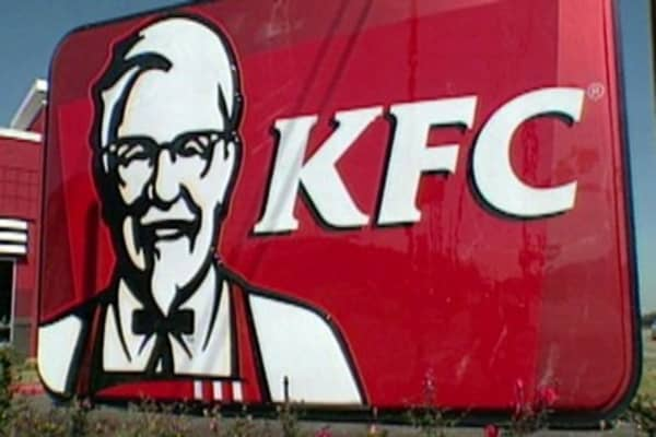 Colonel Sanders' super makeover