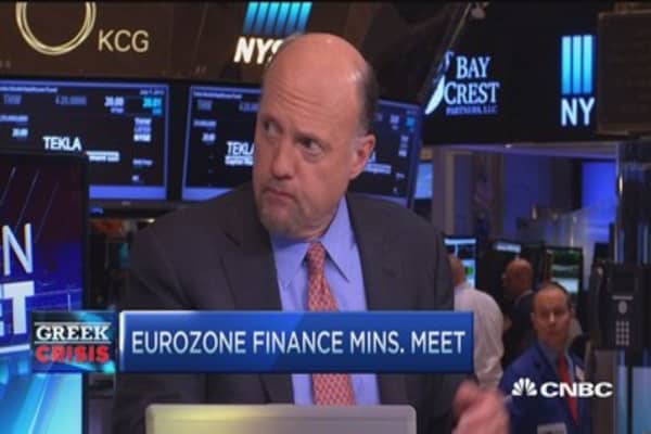 Cramer on Germany and Greece