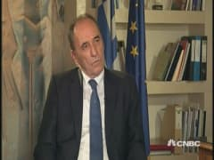 Greek Economy Minister: Ideal solution for Greece