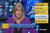 CNBC update: Taliban Meeting