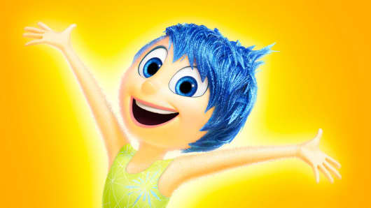 """Joy from the movie """"Inside Out."""""""