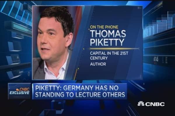 Piketty: Germany has no standing to lecture others