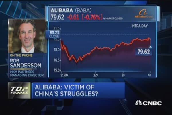 Alibaba: Victim of China's struggles?