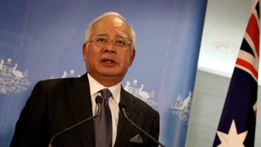 MALAYSIAN PM PERTH VISIT