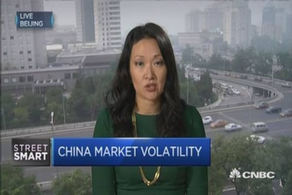 Panic heightens as China's market rout worsens