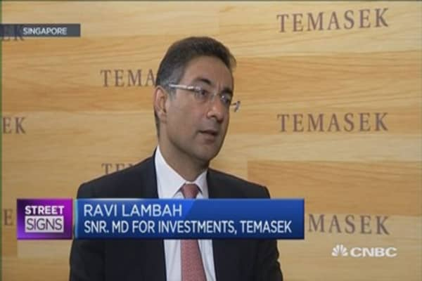 Temasek: Comfortable with outlook on China