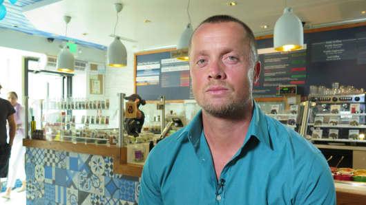 Jonathan Williams Margaritakis is owner of Go Greek Yogurt in Beverly Hills.