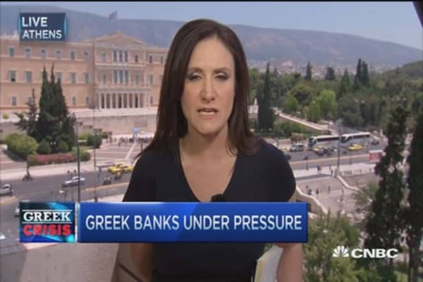 Greece imposes cash limits leaving country