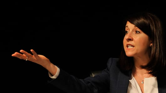 Liz Kendall contender for UK Labour Party leadership
