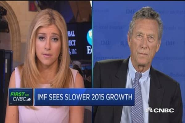 IMF chief economist: US doing fine