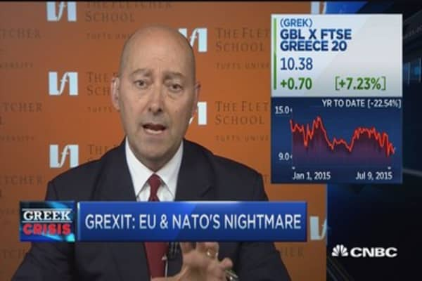 Grexit could cause NATO issues: Admiral
