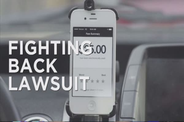Uber drivers suing for benefits