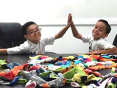 Brandon and Sebastian Martinez