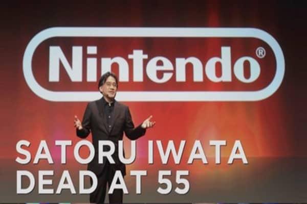 Nintendo CEO dies at 55