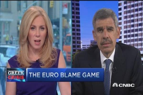 Greek deal return of 'gunboat diplomacy': El-Erian