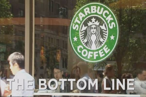 Starbucks leads initiative to hire young minorities