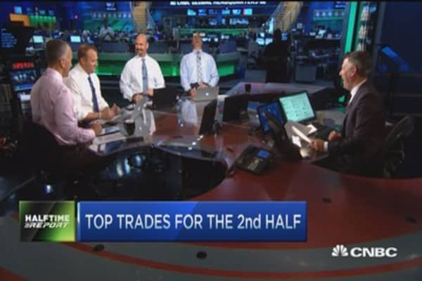 Top trades for the 2nd half: Valero & Facebook