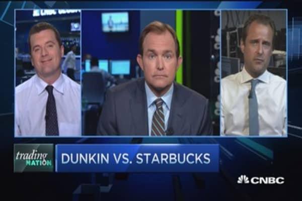 Two pros pick Starbucks over Dunkin