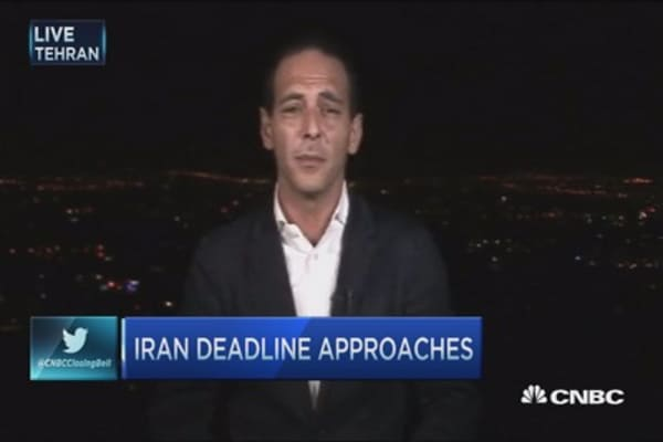 No deal  in Iran ... yet