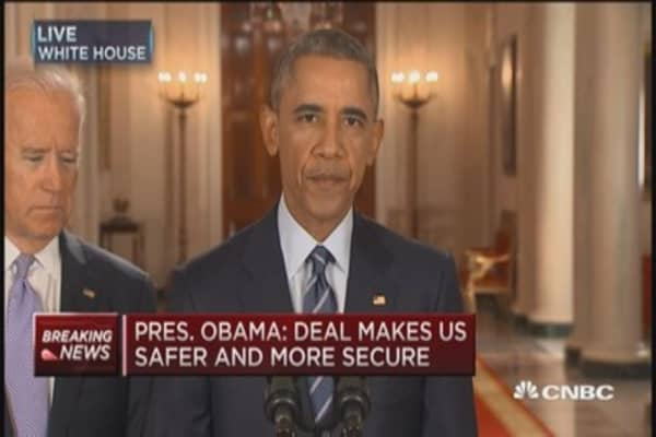 Pres. Obama: Iran deal makes our country more secure