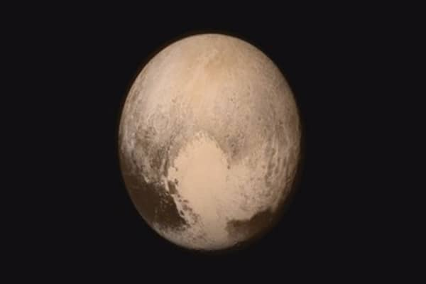 Seeing Pluto for the first time