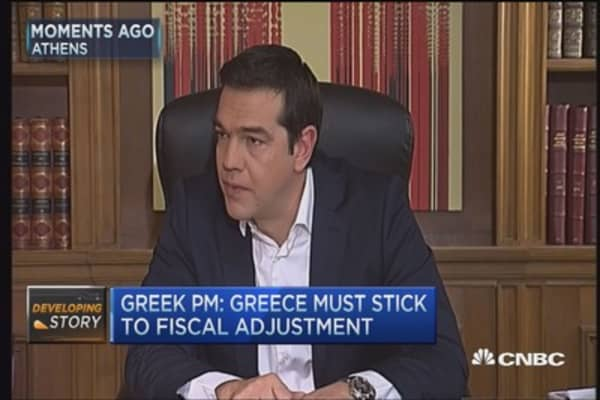 Greek PM Tsipras: I don't believe in this deal