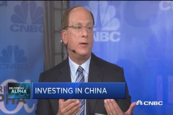 China needs to open up its markets: Larry Fink