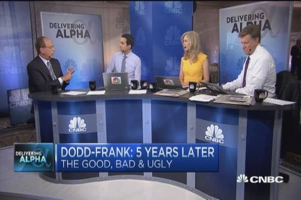 Dodd-Frank side effects: Larry Fink