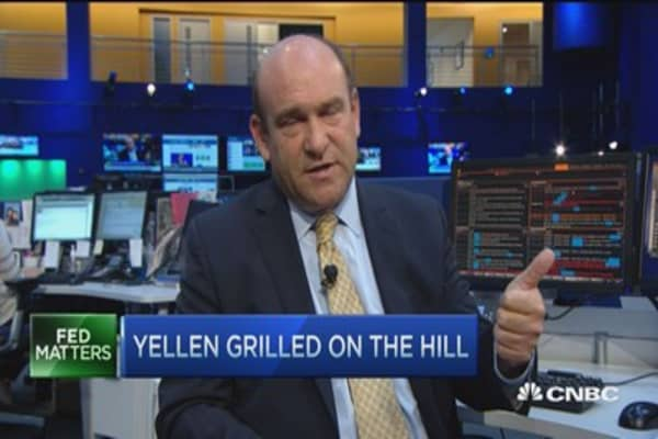 Janet Yellen grilled on the hill