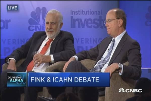 Carl Icahn: Fink & Yellen pushing us over a cliff