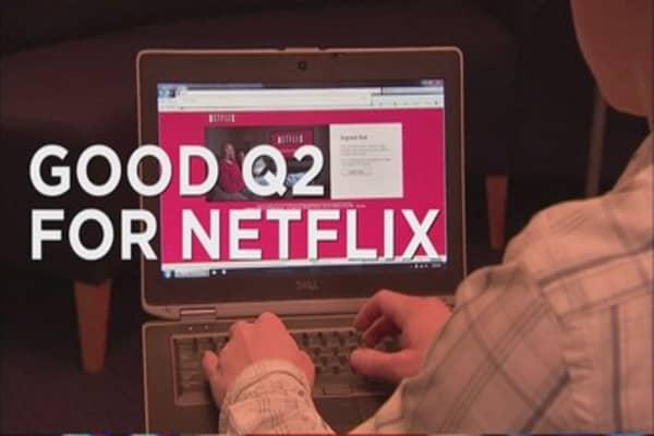 Netflix shares spike on Q2 earnings