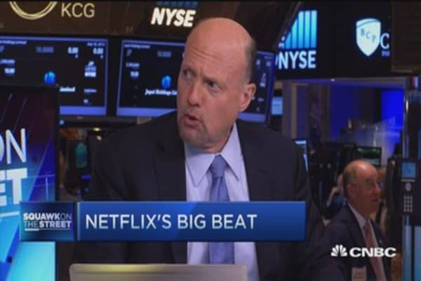 Cramer: Only place NFLX won't do well is Pluto