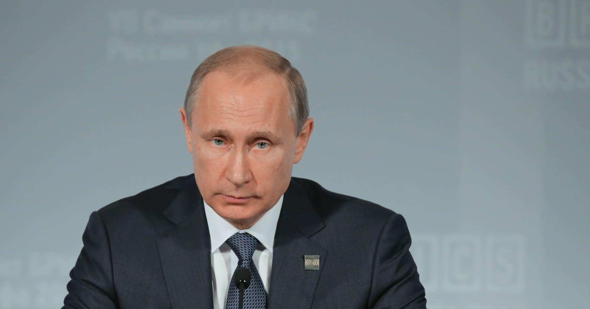 CNBC speaks to Russian President Vladimir Putin
