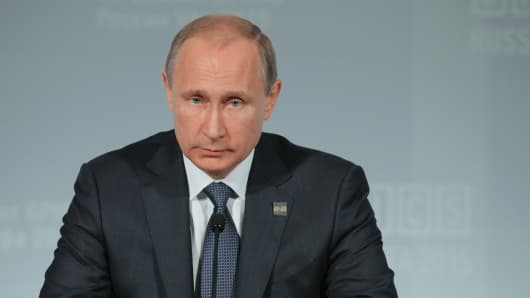 President of the Russian Federation Vladimir Putin.