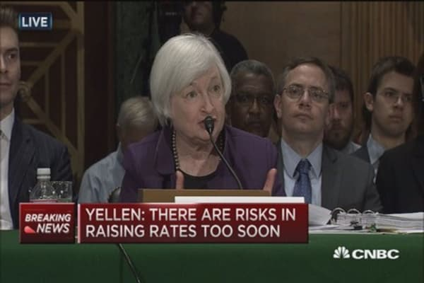Yellen: Fed does not only watch stocks
