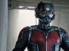Ant Man still from Marvel's new release.