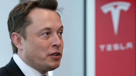 Tesla executives listed as officers at materials recycling firm