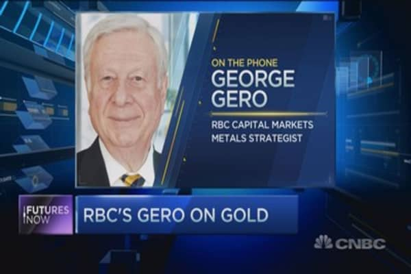 RBC's Gero: Gold selling could be over