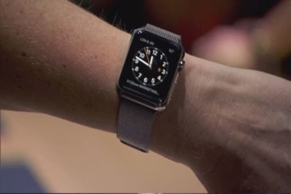 All eyes on the Apple Watch