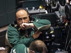 Oil trader at New York Mercantile Exchange