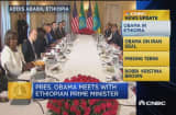 CNBC update: Obama in Ethiopia