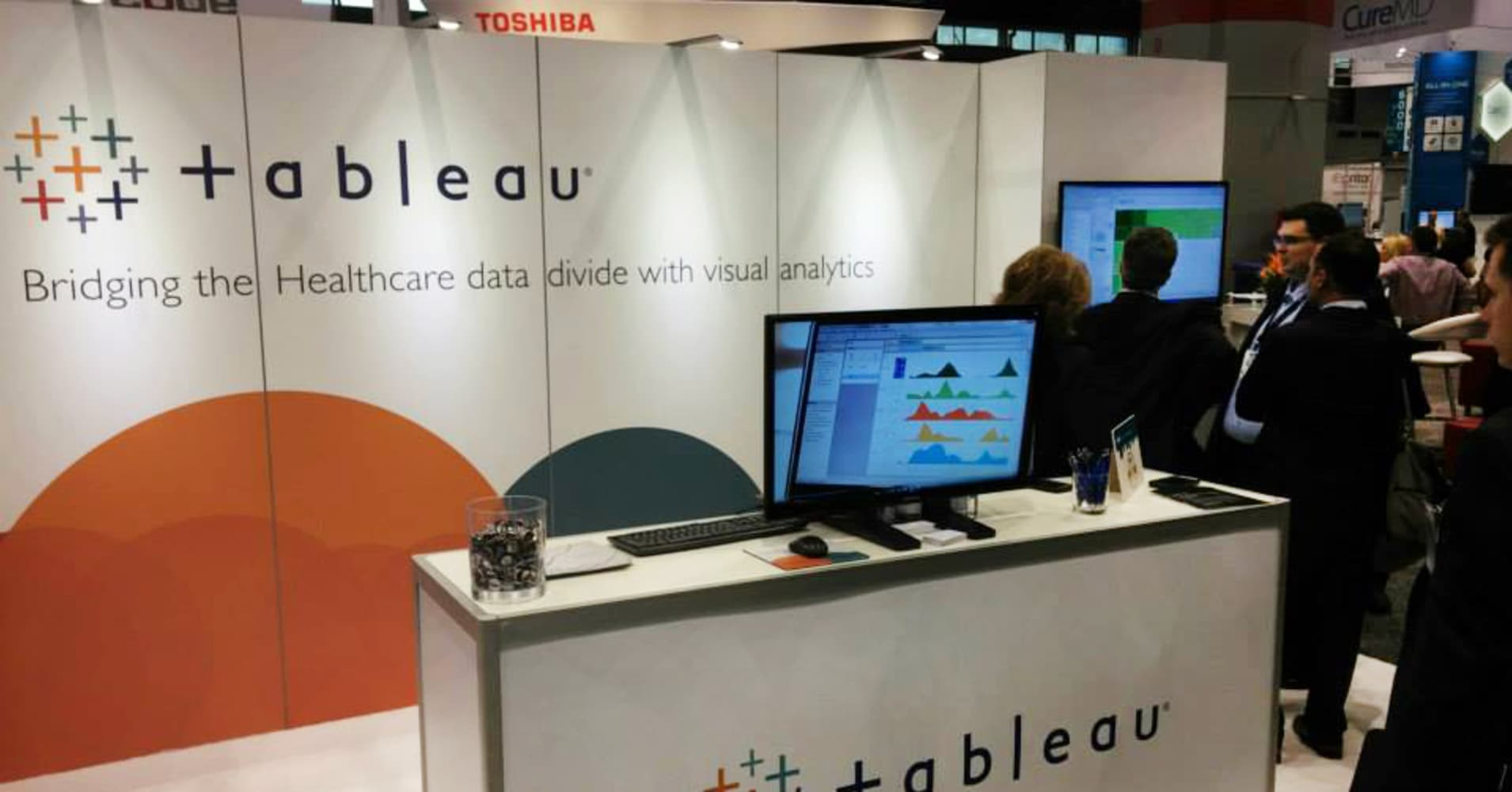 From baseball to liquor, Tableau Software CEO explains how business is growing