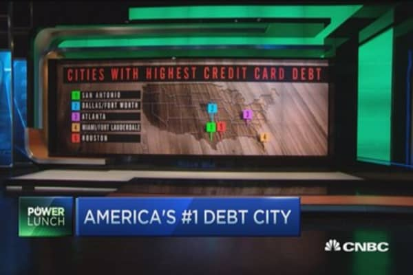 America's #1 debt city