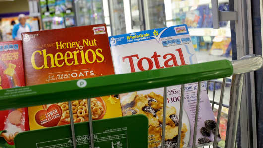 General Mills cereal products