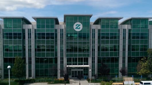 Zazzle headquarters in Redwood City, Calif.