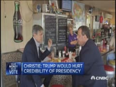 Christie: Trump would hurt credibility of Presidency
