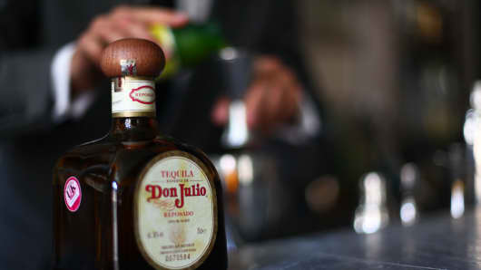 Diageo reports flat sales as it nurses hangover