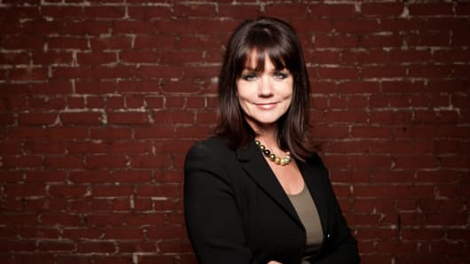 Sherry Stewart Deutschmann, founder and chief executive of LetterLogic in Nashville, Tennessee.