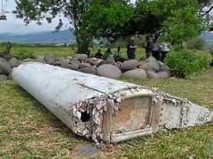 Boeing 777 wreckage